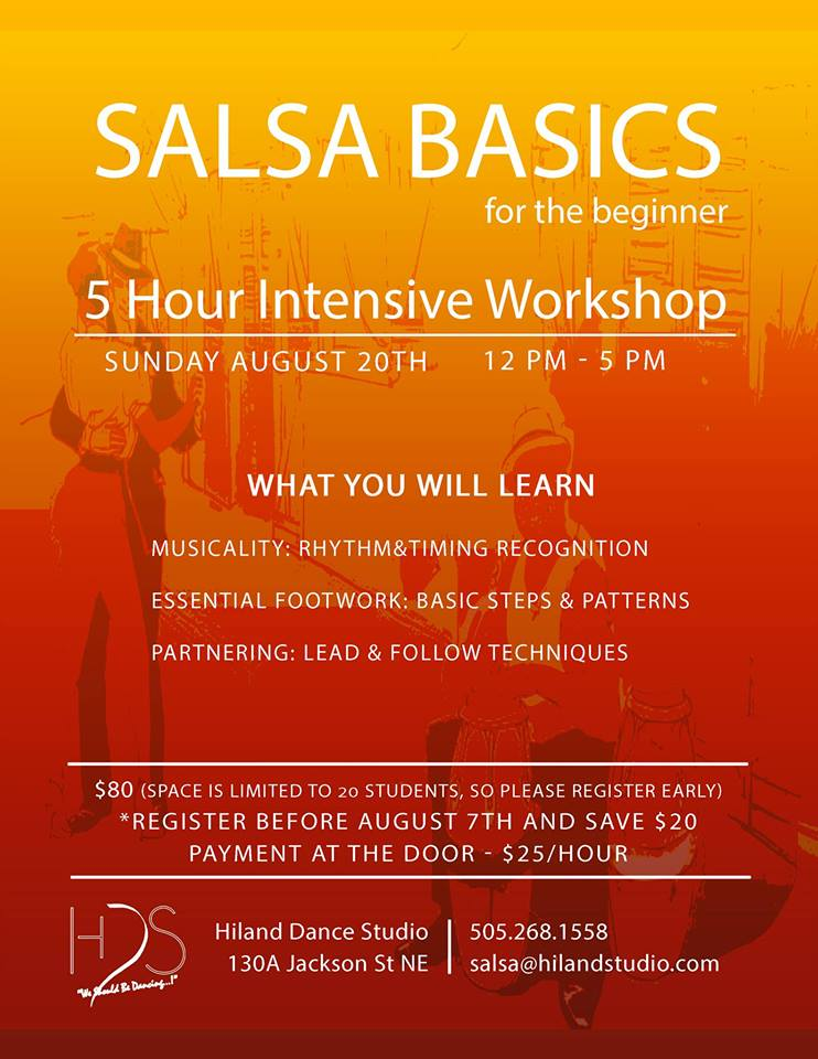 Salsa Basics Intensive