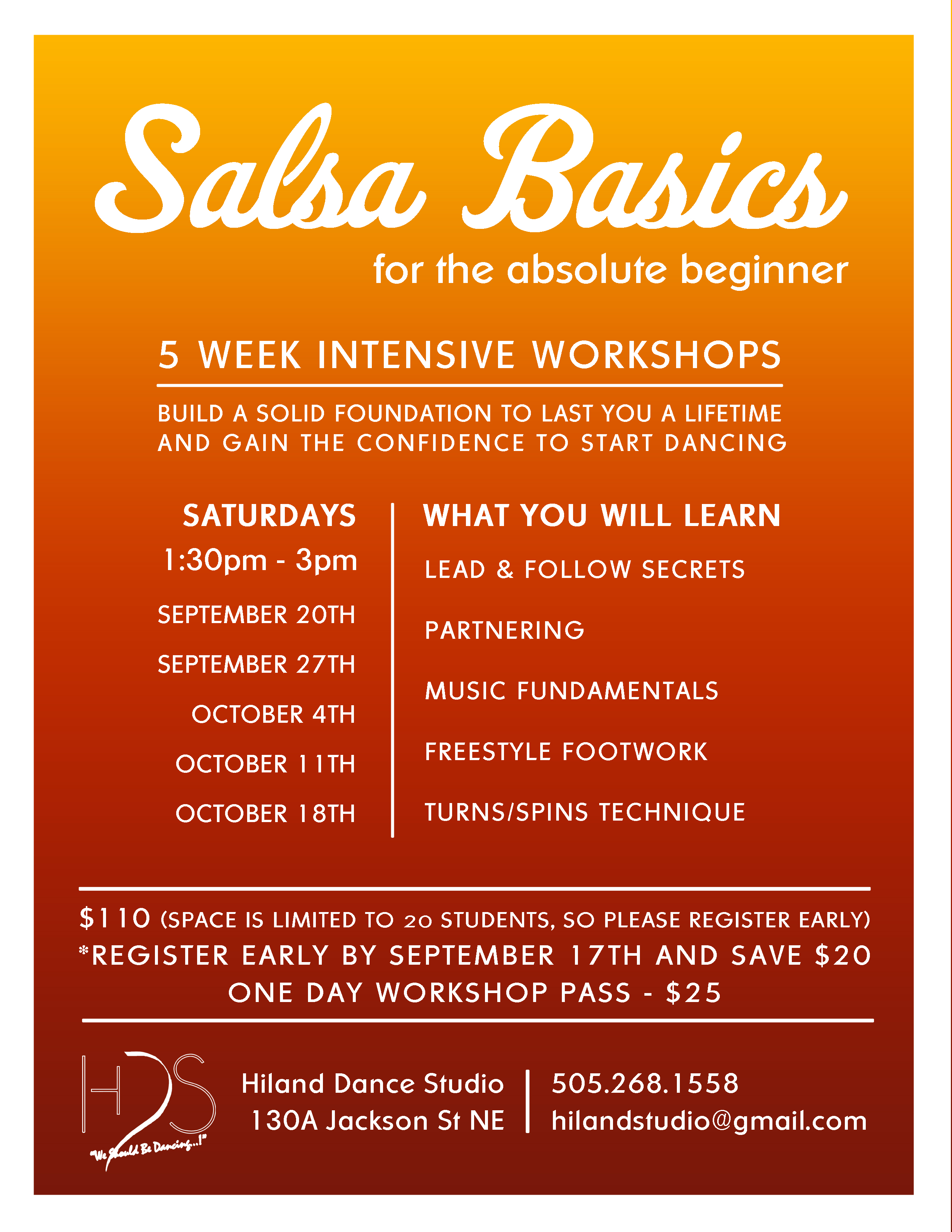 Salsa Basics for the Absolute Beginner