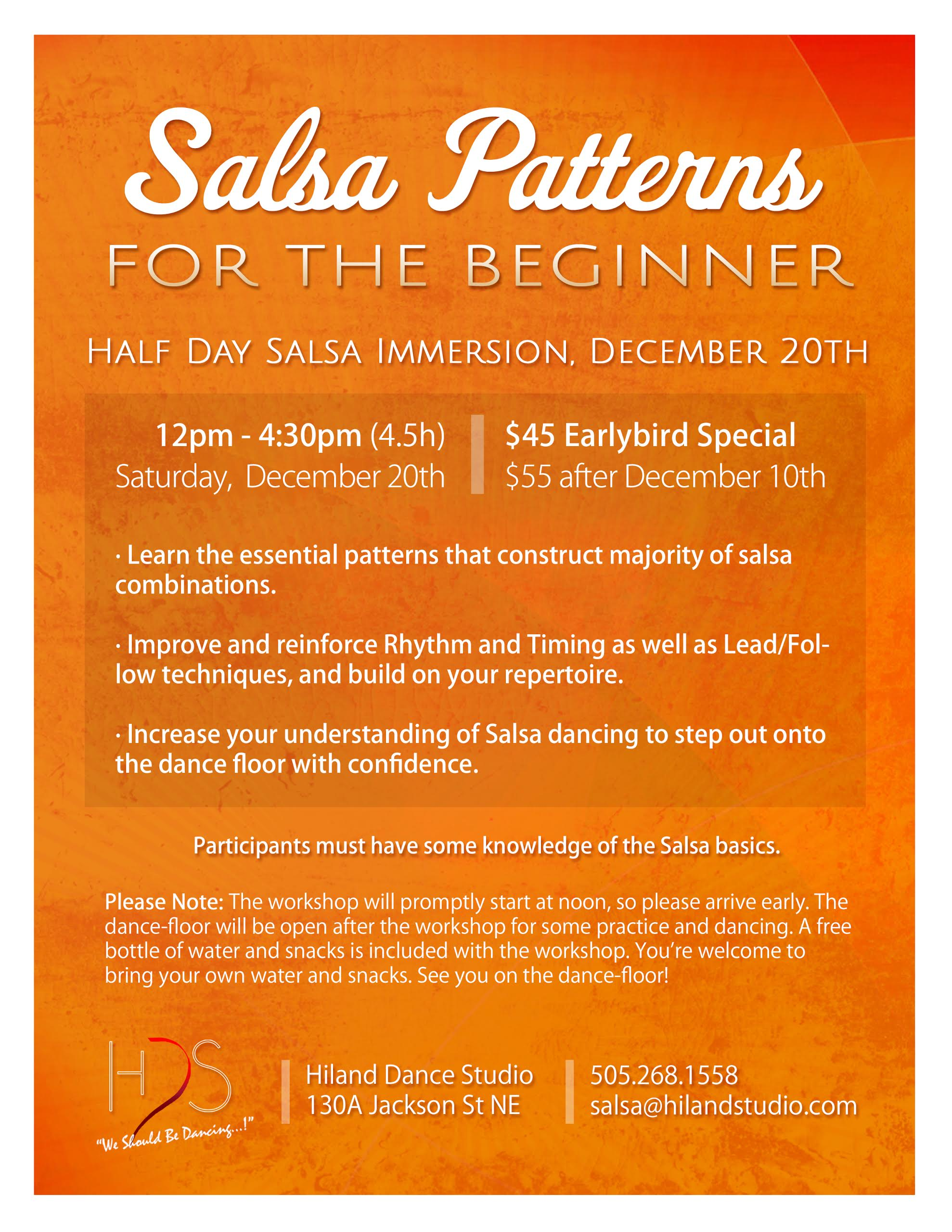 Salsa Patterns for the Beginner